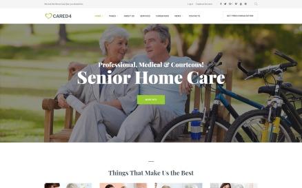 Cared4 - Senior Care WordPress Theme