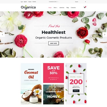 Preview image of Beauty VirtueMart Template No. 63566