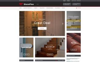 StoreFlex - Building Materials Responsive OpenCart Template