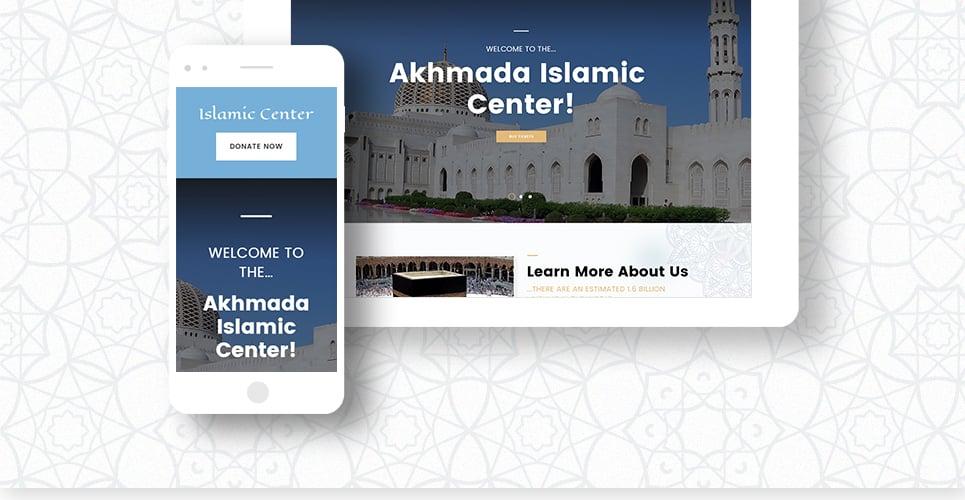 Tema de WordPress #63570 para Sitio de Islam