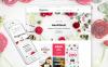 Адаптивный VirtueMart шаблон №63566 на тему магазин косметики New Screenshots BIG