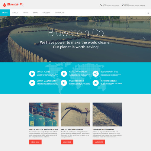 Bluwstein - Responsive Joomla! Template