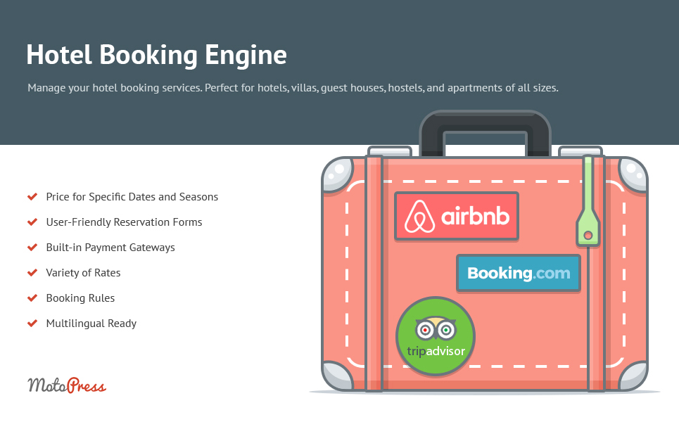 Hotel booking engine wordpress plugin 63518 for Hotel e booking