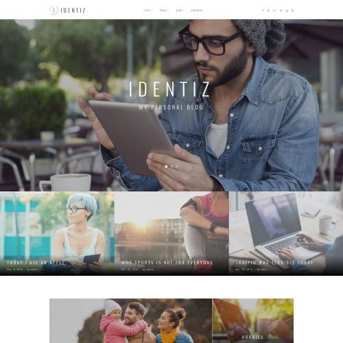 Identiz - Responsive WordPress Template