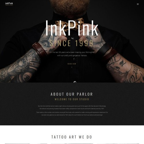 Inkpink  - HTML5 WordPress Template