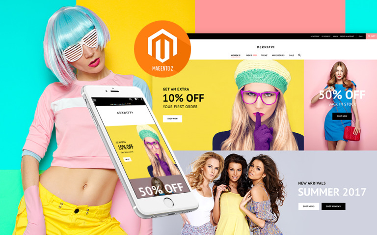 Kernippi - Apparel Store Magento Theme New Screenshots BIG