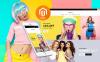 """""""Kernippi - Magasin de vêtements"""" thème Magento adaptatif New Screenshots BIG"""