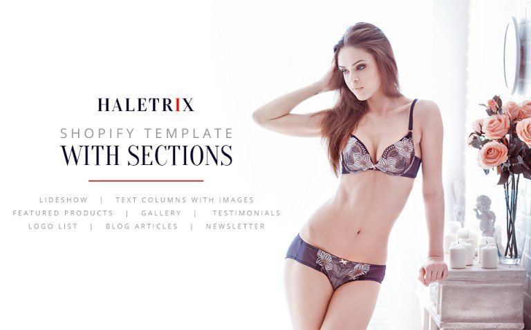 Lingerie Responsive Shopify Theme New Screenshots BIG