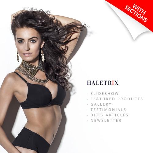 Haletrix - Responsive Shopify Template