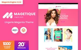 Magetique - Lingerie Magento Theme