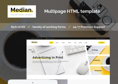 Advertising Agency HTML5