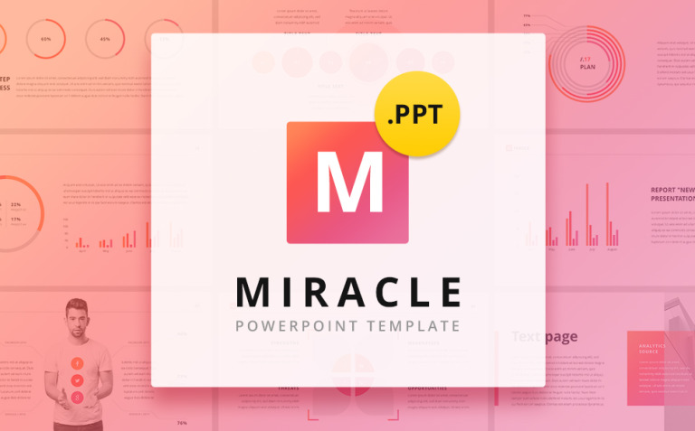 Miracle PowerPoint Template New Screenshots BIG
