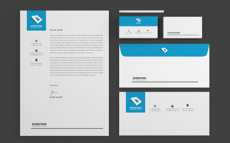 Multipurpose Corporate Identity Template New Screenshots BIG