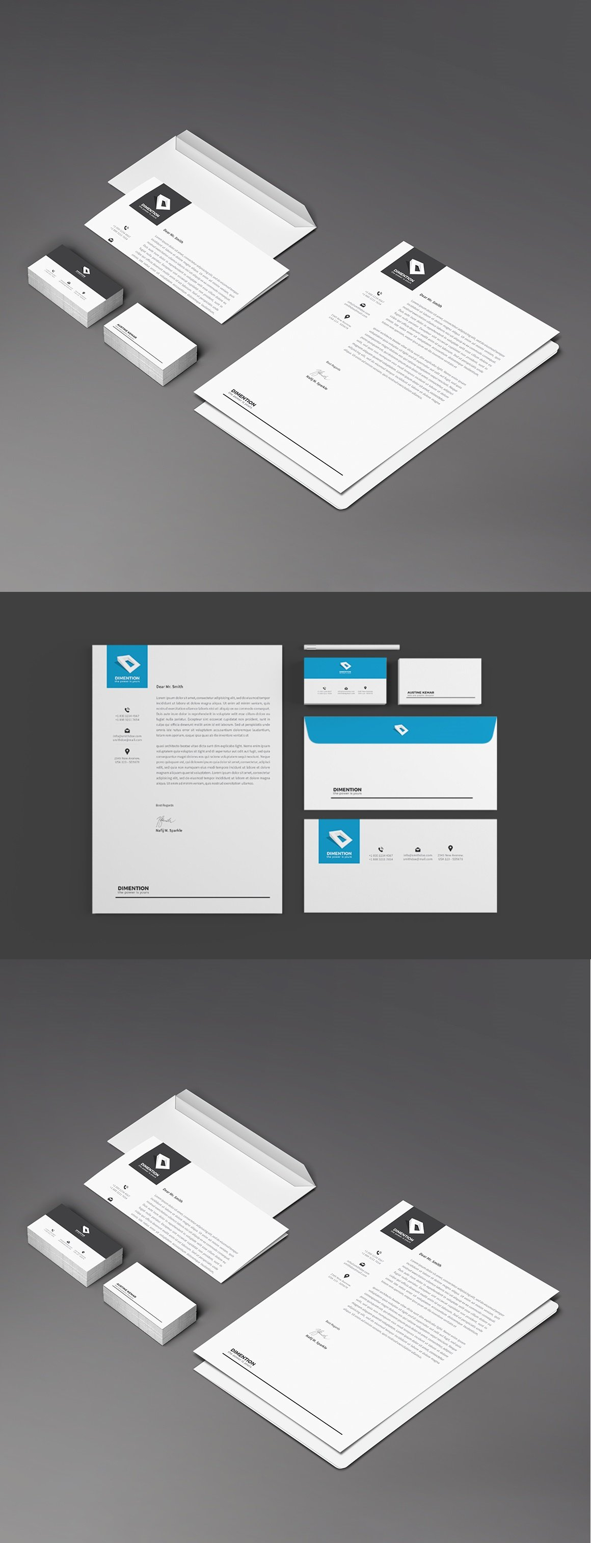 Multipurpose Corporate Identity Template - screenshot
