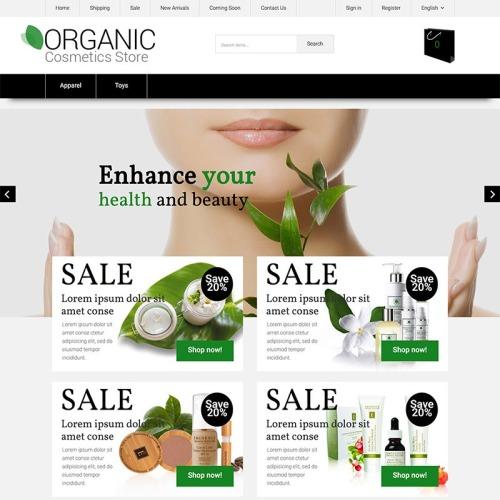 Organic - Responsive X-Cart Template