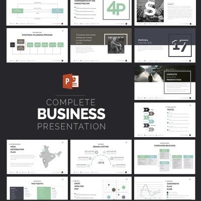 Powerpoint template over zakelijke diensten 63510 business powerpoint template toneelgroepblik Image collections
