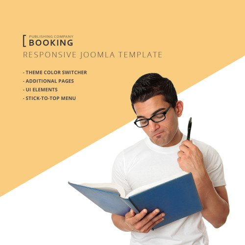 Booking - Joomla! Template based on Bootstrap