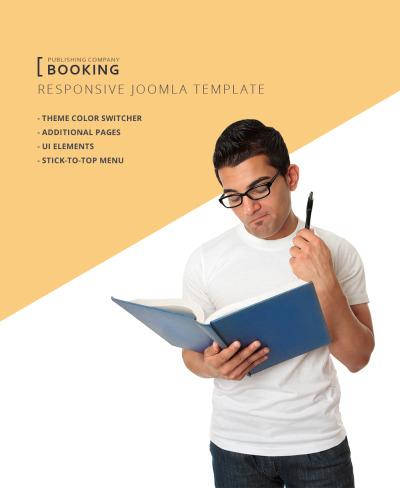 Responsywny szablon Joomla #63532 na temat: wydawnictwo