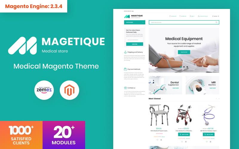 Responsywny szablon Magento Magetique - Medical Equipment #63512