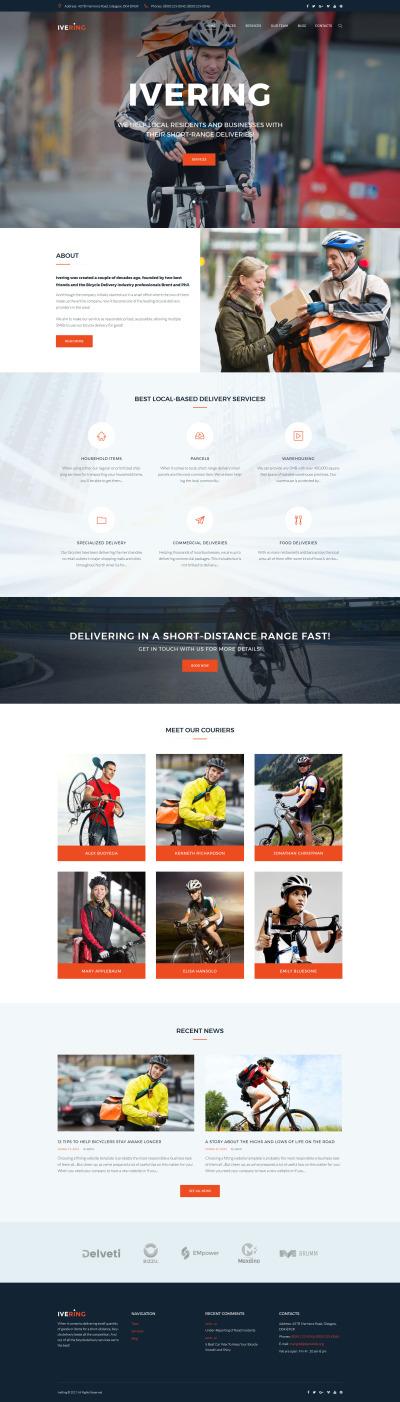 Delivery Services Responsive WordPress Sablon
