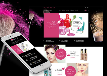 Beauty Items Responsive Prestashop
