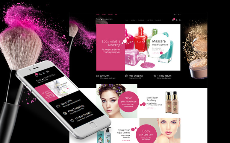Star Cosmetics - Beauty Items Responsive PrestaShop Theme New Screenshots BIG
