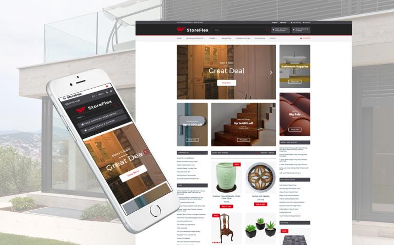 StoreFlex - Building Materials Responsive OpenCart Template New Screenshots BIG