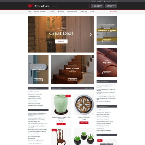 Storeflex - OpenCart Template based on Bootstrap