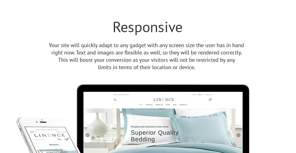 Linence Luxury  Responsive Shopify  Theme