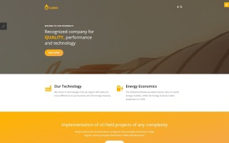 Gas & Oil Responsive Joomla Template
