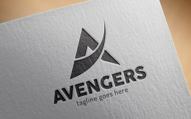 A Letter Logo Template New Screenshots BIG
