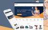 Адаптивный Shopify шаблон №63668 на тему инструменты и оборудование New Screenshots BIG