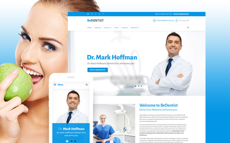 BeDentist - Dentist & Medical Premium Drupal Template New Screenshots BIG