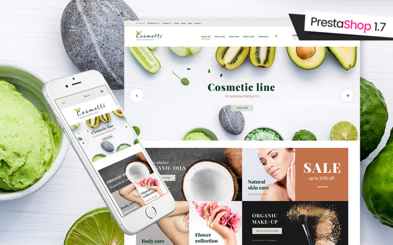 Cosmetti - Cosmetics Store PrestaShop Theme New Screenshots BIG