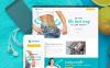 """""""DropLbs - Clinique pour la Perte de Poids"""" thème WordPress adaptatif New Screenshots BIG"""