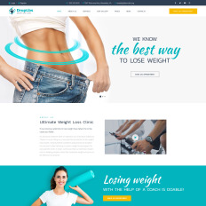 Weight Loss WordPress Theme #27409
