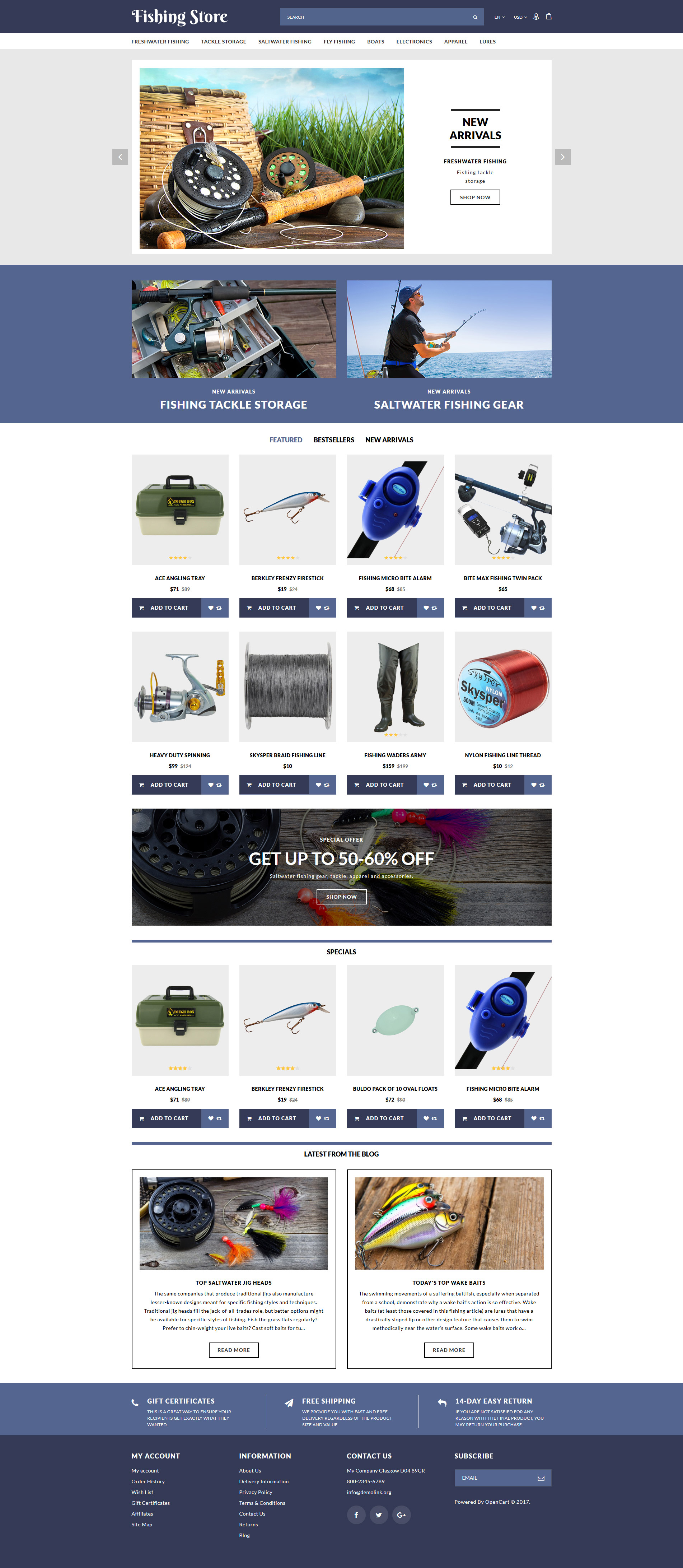 OpenCart Templates | OpenCart Themes | TemplateMonster