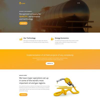 Gas Templates | Oil Templates | TemplateMonster