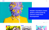 Responsive WordPress thema over Kunst Galerij New Screenshots BIG