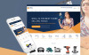 Reszponzív Eszközök és berendezések  Shopify sablon New Screenshots BIG