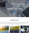 Reszponzív Napenergia témakörű  Joomla sablon New Screenshots BIG