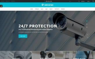 Securax - Security Equipment Store Responsive OpenCart Template