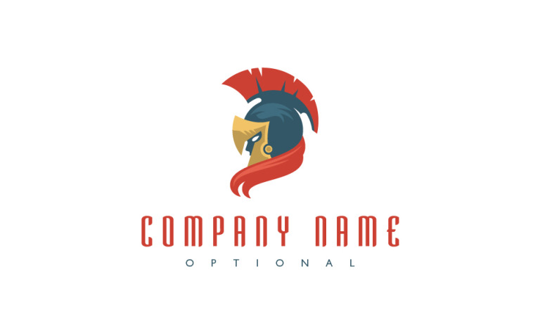 Spartan Warrior Logo Template New Screenshots BIG
