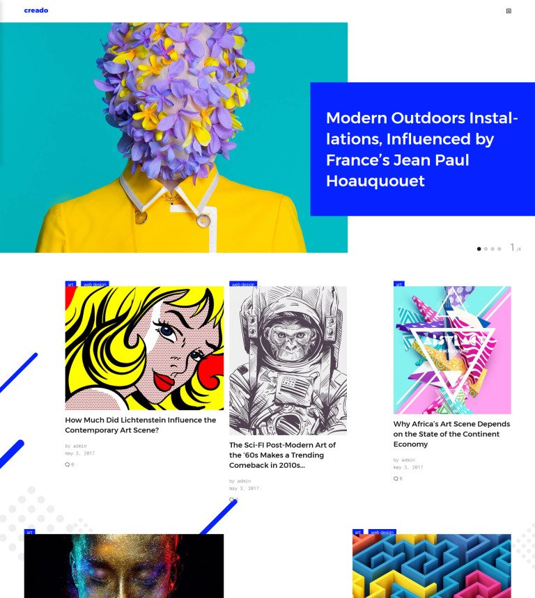 Tema de WordPress #63661 para Sitio de Galerías de arte