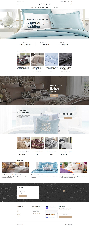 Tema Shopify Responsive para Sitio de Ropa de casa #63634