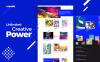 Thème WordPress adaptatif  pour galerie d'art New Screenshots BIG
