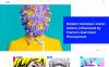 "WordPress шаблон ""Creado - Art Gallery Responsive"" New Screenshots BIG"
