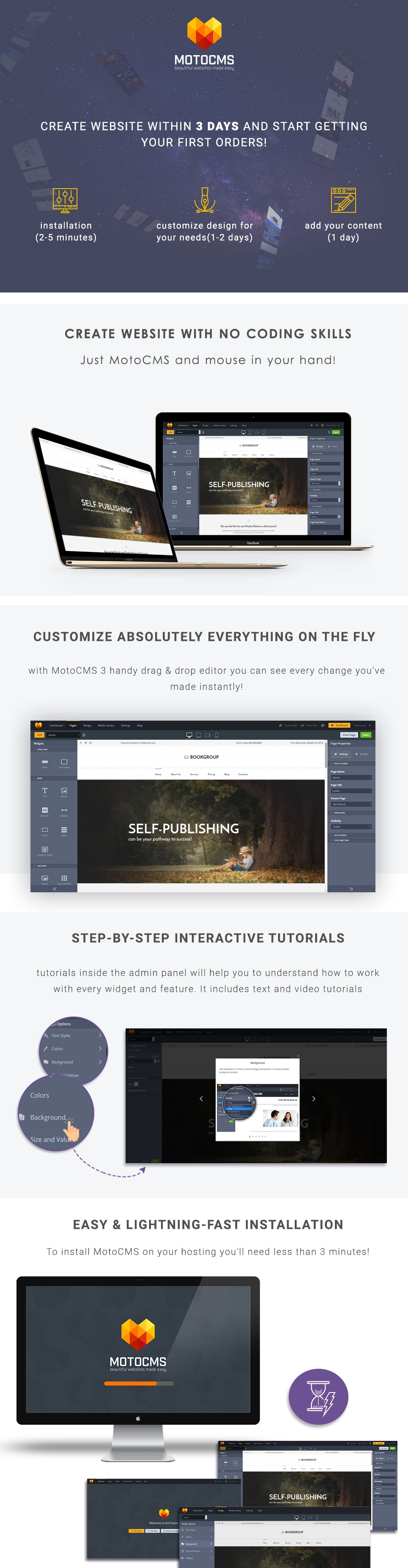 Website Design Template 63700 - science