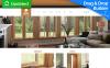 Responsivt Moto CMS 3-mall för inredningsdesign New Screenshots BIG