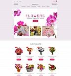 Шаблон сайта 63718 Цветы шаблоны сайтов